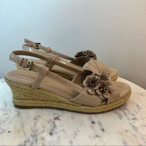 Natural Soul by Naturalizer size 9 wedge sandals